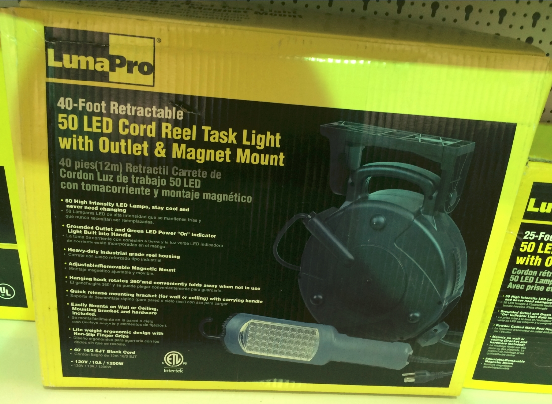 Products Worklight Cordreel Retractable Extension Cord Reel W Tritap And Circuit Breaker Prolite